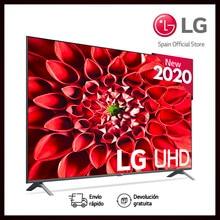Televisor LG TV LED 65' Pulgadas UHD 4K Smart TV, Televisión, Procesador Quad Core, Sonido ULTRA Surround Active HDR, IPS, Plaza