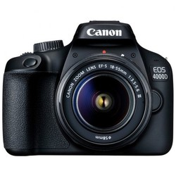 Canon EOS 4000D T100 DSLR Wi-Fi Camera with 18-55mm Lens
