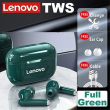 Original Lenovo LP1 TWS Bluetooth Earphone Sports Wireless Headset Stereo Earbuds HIFI Music With Mic For Android IOS Smartphone