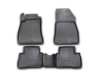 Floor mats for Nissan Juke 2010~2020 Model B T/L interior protection dirt guard car styling image
