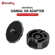 SmallRig Universal Quick Release Adapter Attach Mini Tripod / Monopod to Gimbal Stabilizer Like for DJI Ronin S / Ronin SC 2714(China)