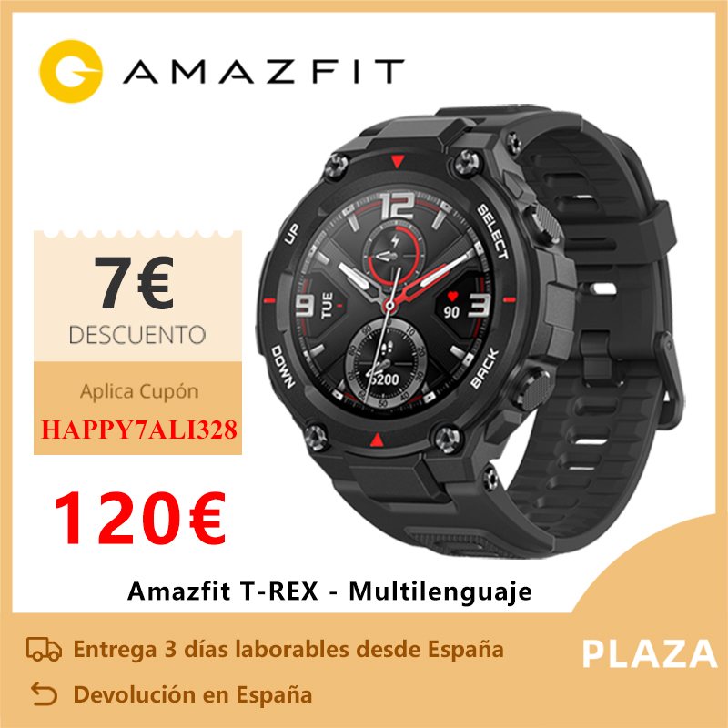 Exclusive Launch Amazfit T-REX Smart watch sports outdoor xiaomi Smart watch GPS bluetooth [Global version]