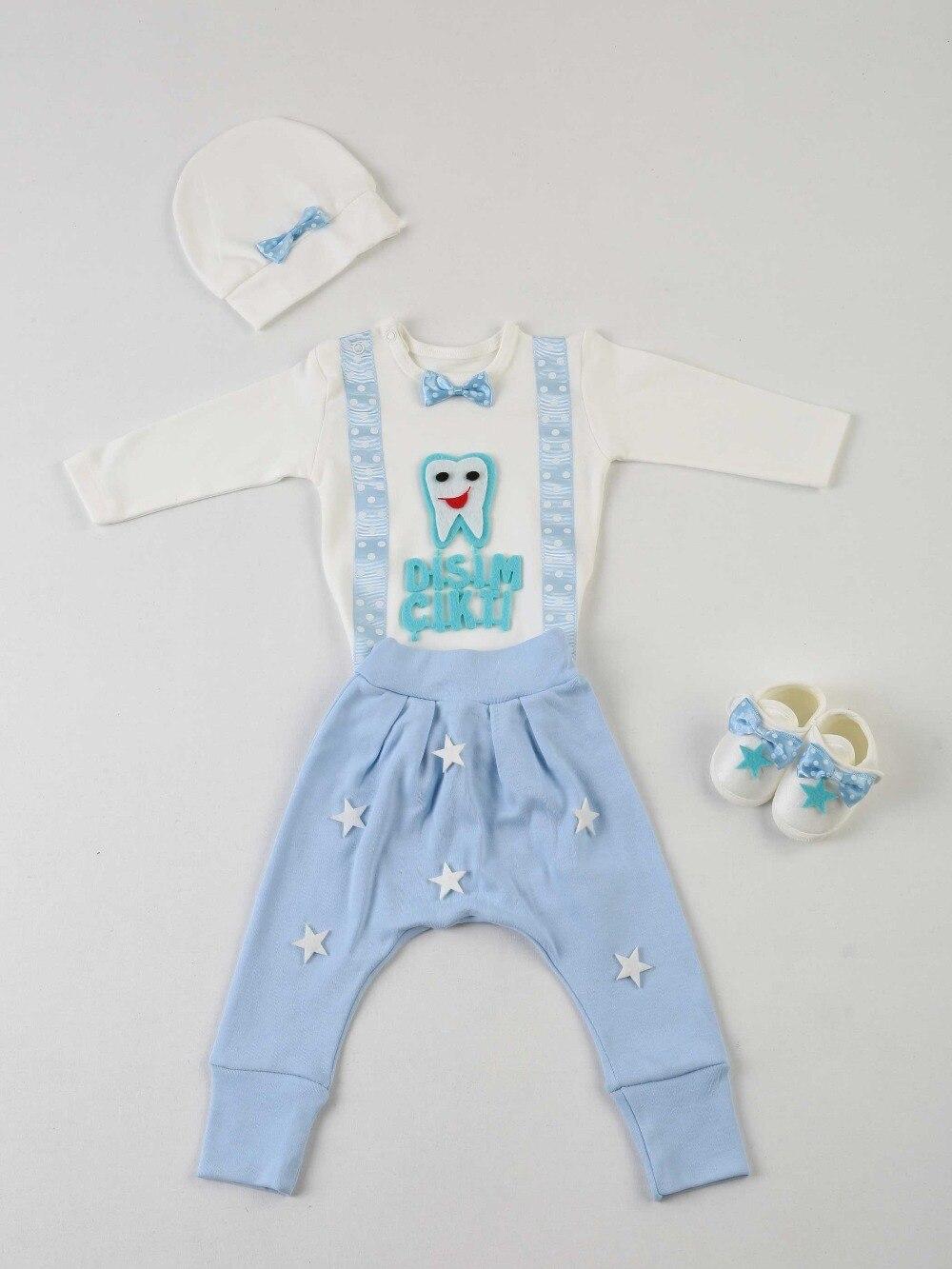 083-1110-015 Mavi Dişim Çıktı 4 lü Bebek Takım (1)