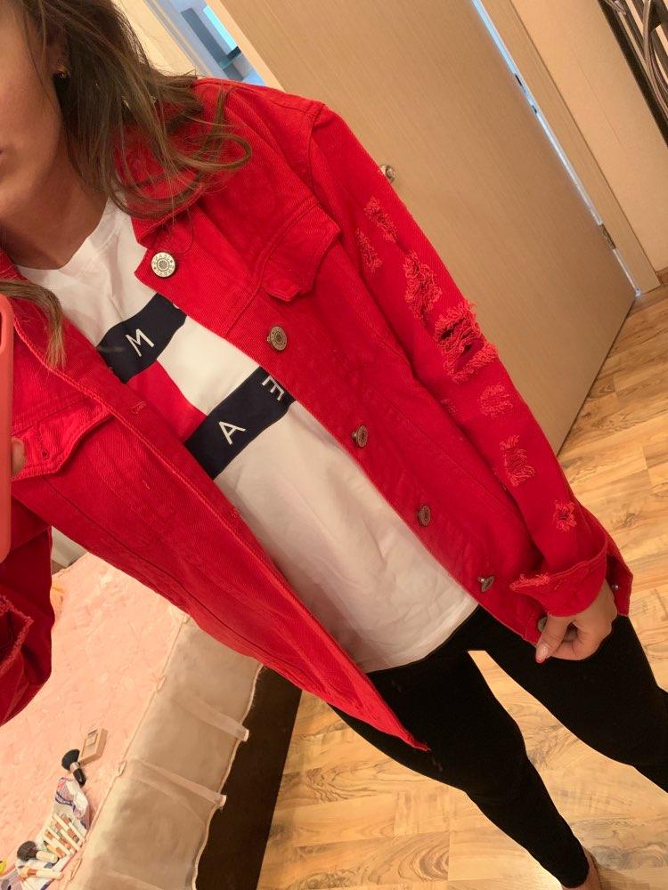 Jaquetas básicas mulheres jaqueta rasgado