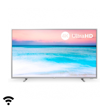 "Smart TV Philips 50PUS6554 50"" 4K Ultra HD LED WiFi Silver"
