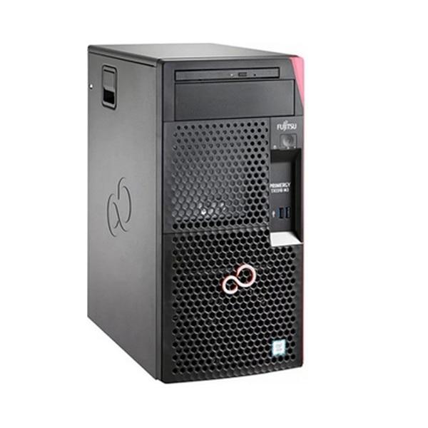 Server Tower Fujitsu TX1310M3 E3-1205v6 Xeon® E3 8 GB RAM LAN Black