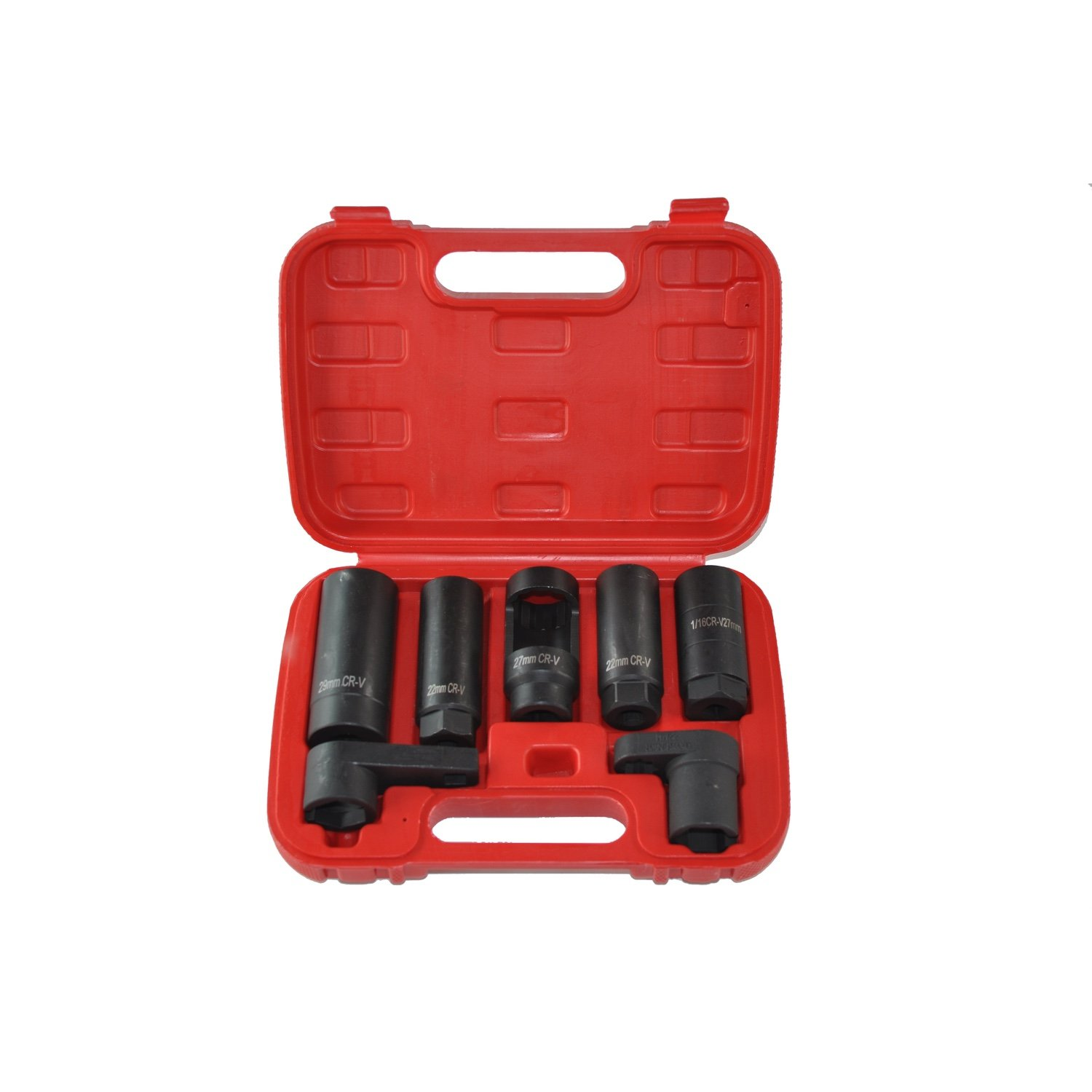 все цены на Set 7 Sockets Tool for Remove Lambda Sensor 22mm Car Oxygen Sensor Lambda Sensor sensor key онлайн