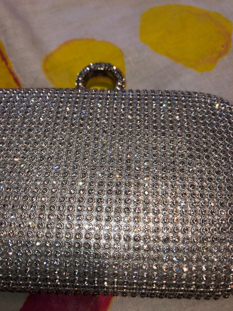 Clutch Bags Diamond-Studded photo review