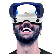 2020 New Hot-selling очки вертуальности VRG Pro 3D VR Glasses Virtual Reality 3D Goggles VR Helmet Box For 5 to 7 inch Smartphon