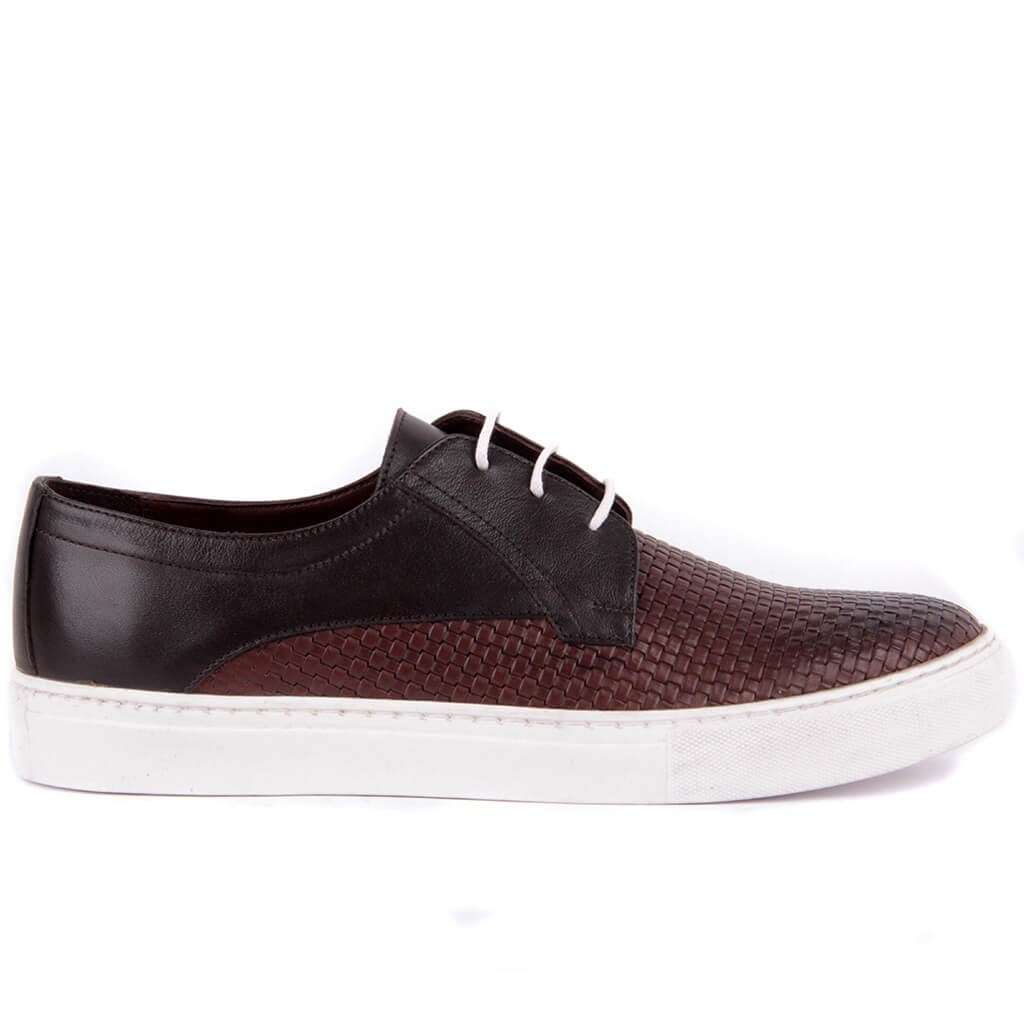 Sail Lakers-Brown Men 'S Casual Leather Shoes
