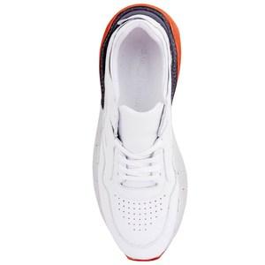 Image 5 - Sail lakers sapatos esportivos casuais femininos de couro branco