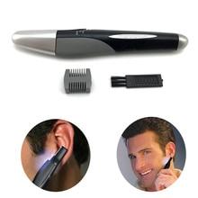 Micro Touch recortador de pelo de la nariz, orejas, oídos, cejas, patillas y nuca para hombre corta pelos nariz y oido sin dolor