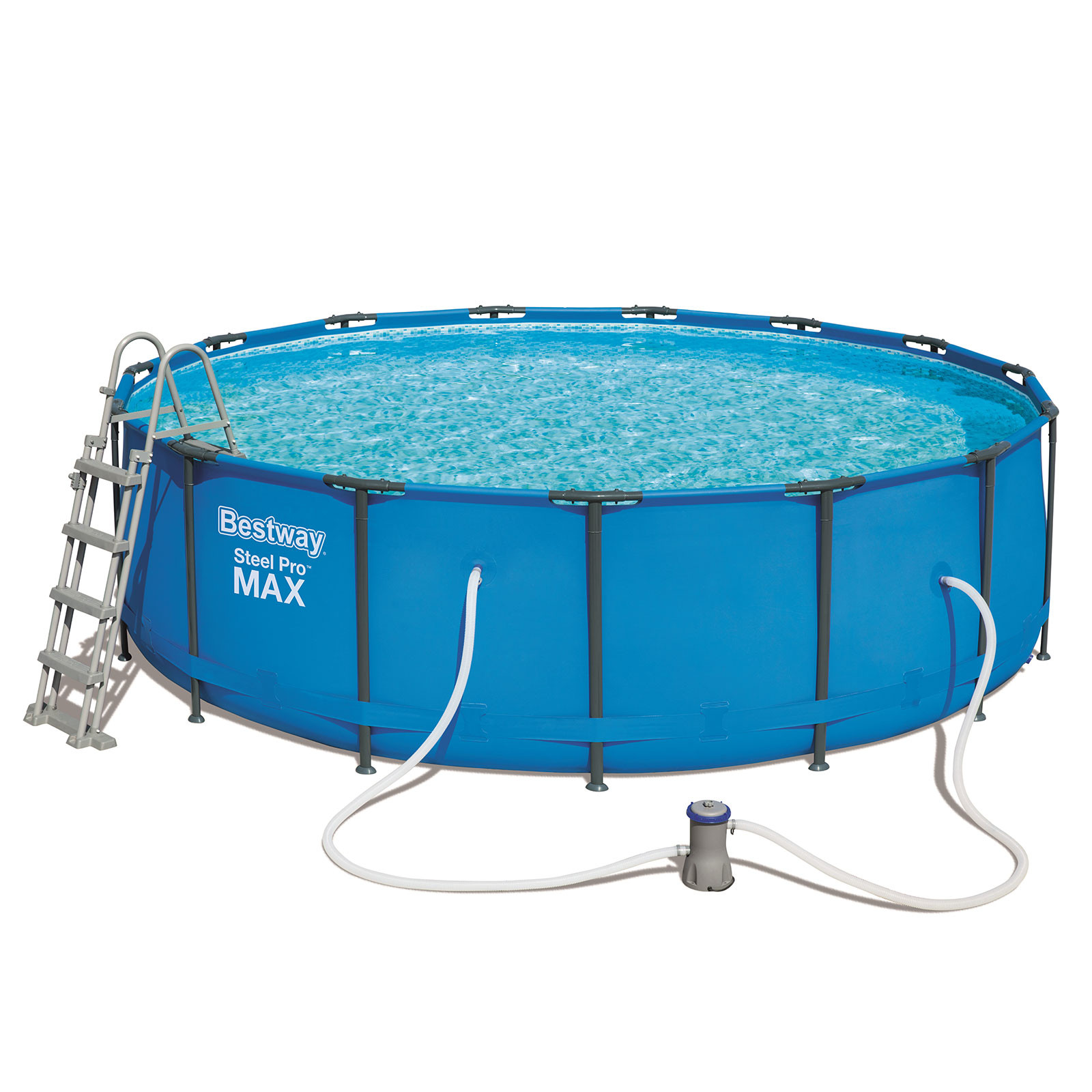 Bestway Removable Pool Tubular Steel Pro Max 457 Cm X 122 Cm Plant Cartridge 3.028 Liters/Hour -56438-