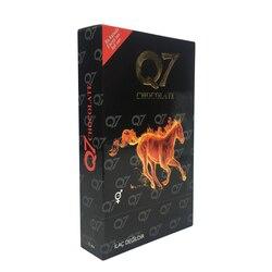 12 шт Q7 шоколадная смесь травы натуральный афродизиак улучшает сексуальное влечение горячий натуральный женьшень