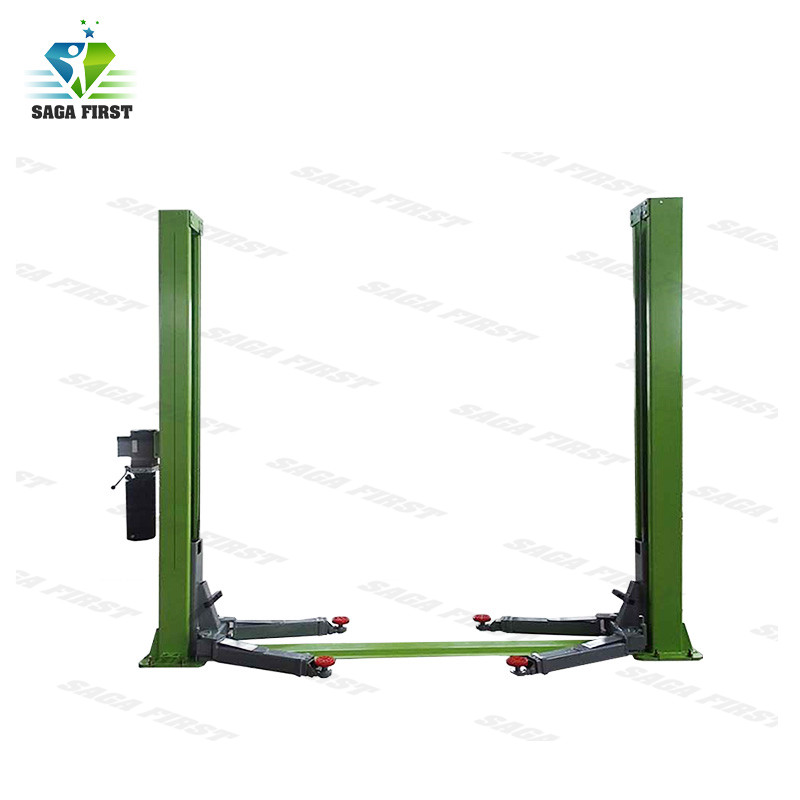 Two-Stage Safety Locks Hydraulic Lift For Automotive