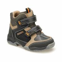 Boys Boots Shoes Spring Autumn Brown PU Children's Fashion Kids Warm Winter Rubber Waterproof Snow Rain Baby Water 47401