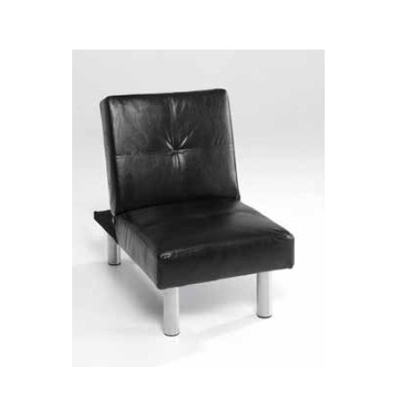 Armchair Single Black And White