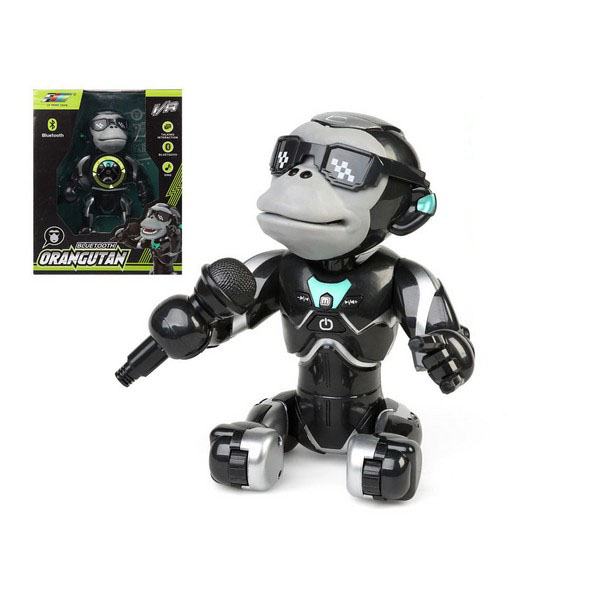 Interactive Robot Orangután 119688 Bluetooth Black