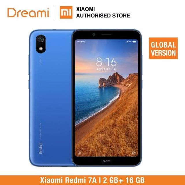 Version Globale Officielle Xiaomi Redmi 7A 16GB ROM 2GB RAM (tout neuf/scellé) 7a 16 go