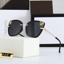2020 New Luxury Bee Fashion Women Sunglasses Cat Eye Round Brand Designer