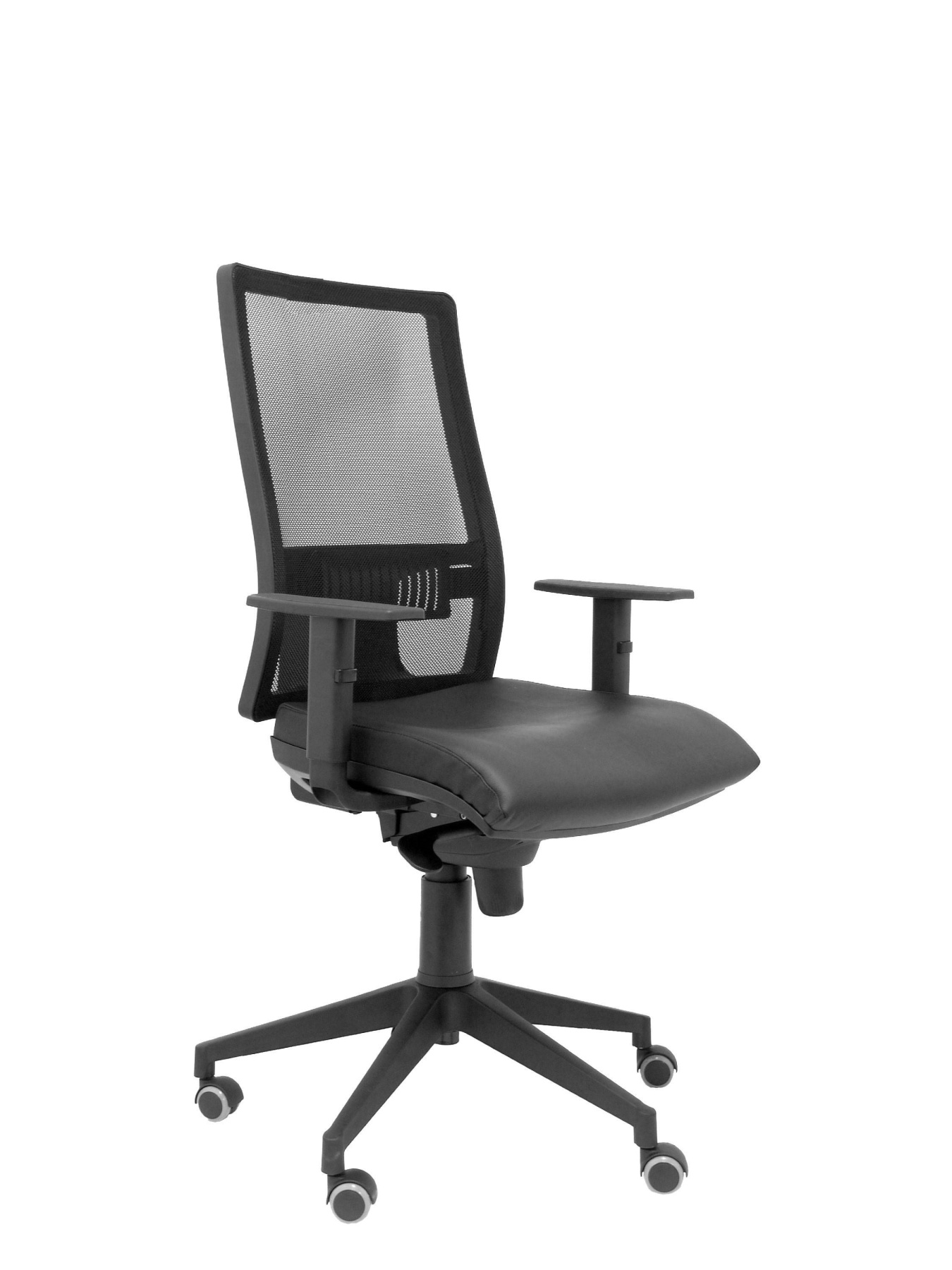 Ergonomic Office Chair With Mechanism Synchro And Height Adjustable High Back Mesh Breathable With Cabecer