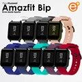 Ремень Amazfit Bip сменный Браслет силиконовый гибкий Смарт-часы спортивные Смарт Браслет замена мягкий водонепроницаемый