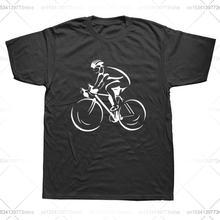 Новые мужские модные повседневные однотонные велосипедиста велосипедный