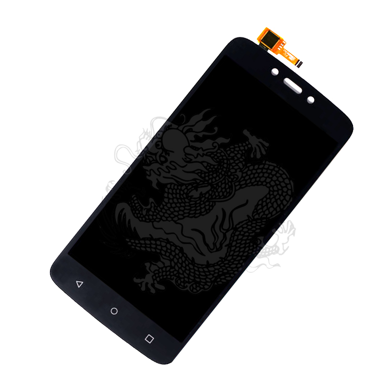 For MOTOROLA MOTO C PLUS <font><b>XT1723</b></font> LCD Display Touch Screen Digitizer Front Glass Lens Sensor Accessories with Flex Cable image