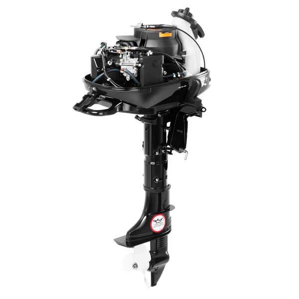 Лодочный мотор HIDEA HDF 6HS