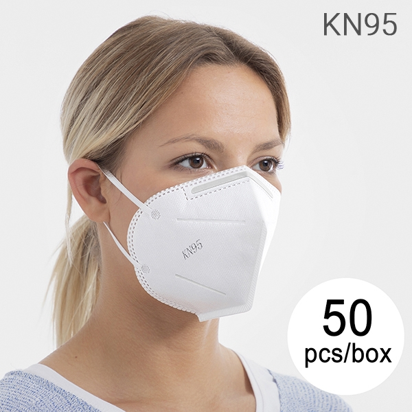 PROTECTION MASK  WITH 5 LAYERS KN95,  NON-MEDICAL DEVICE   Pcs/Box 50