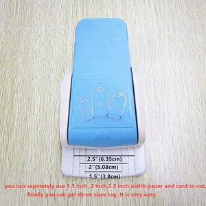 Image 5 - Poinçon de trou 3 en 1, bricolage pages artisanal poinçon de bordure en papier et coupe cartes pour scrapbooking et décoration, 1 pièce, livraison gratuite