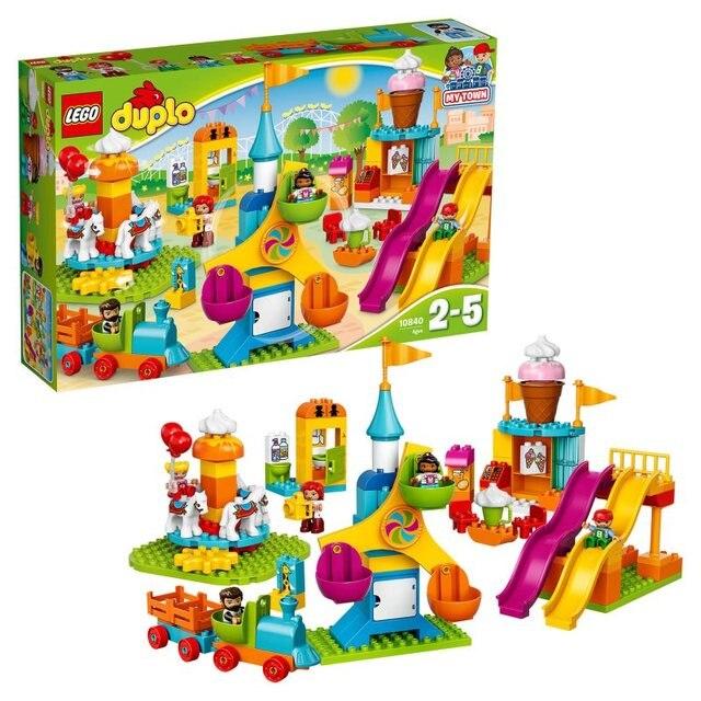 Конструктор LEGO DUPLO 10840 Большой парк аттракционов