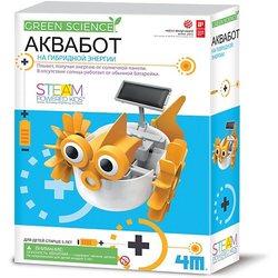 Conjunto para robótica 4M verde ciencia Aquapot