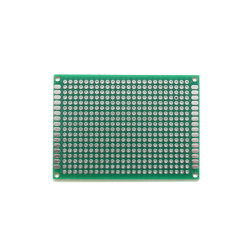 Taidacent 10 Pcs 5x7cm Spray Tin Glass Fiber Material Breadboard PCB Board Double-sided Universal Circuit Board Breadboard Lab