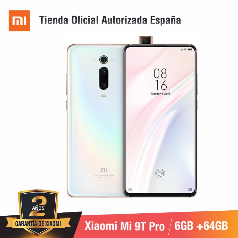 Global Version for Spain] Xiaomi Mi 9T PRO (Memoria interna de <font><b>64GB</b></font>, RAM de 6GB, Triple cámara de 48 MP con IA) <font><b>smartphone</b></font> image