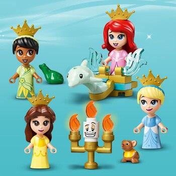 Конструктор LEGO Disney Princess Книга сказочных приключений Ариэль, Белль, Золушки и Тианы 4