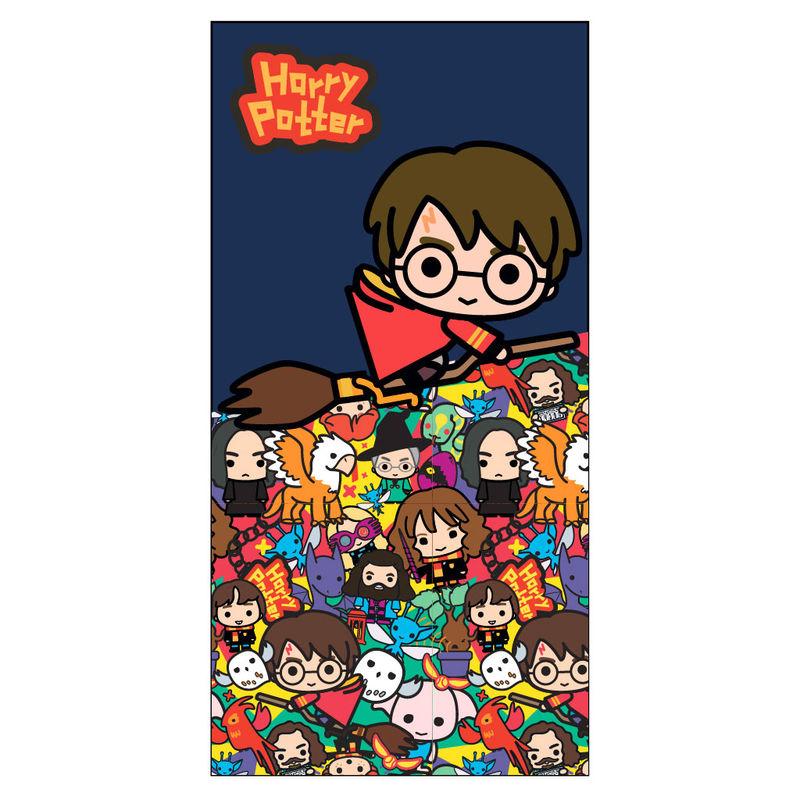 Towel Chibi Harry Potter microfiber