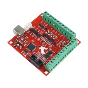Image 4 - 1pcs CNC USB MACH3 100Khz Breakout Board 4 Axis Interface Driver Motion Controller CNC USB MACH3 100Khz Breakout Board 4 Axis In