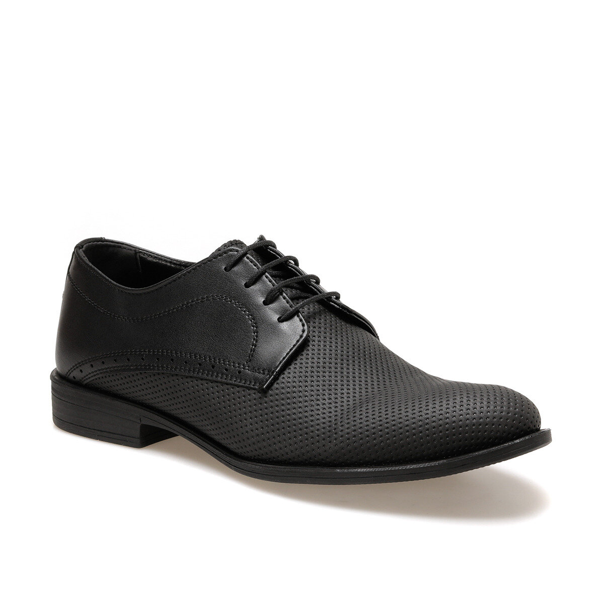 FLO The DT-04 Black Men Dress Shoes DOWN TOWN