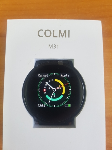 COLMI Smart Watch M31 Full Touch IP67 Waterproof Multiple Sports Mode DIY  Smart Watch Face for Android & IOS|Smart Watches| |  - AliExpress