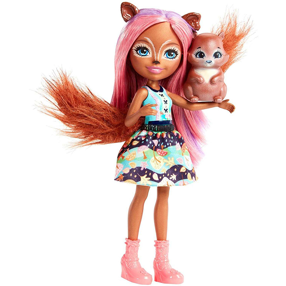 Doll Enchantimals Санча Squirrel Favorite зверюшкой
