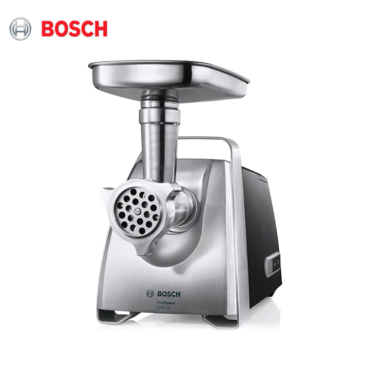 Meat Grinder Bosch MFW68660 Electric Set Auger Sausage Stuffing MFW 68660 Household Appliances For Kitchen