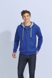 SPORTS JACKET-CONTRASTED AND HOODED-SOUL MEN SPORT
