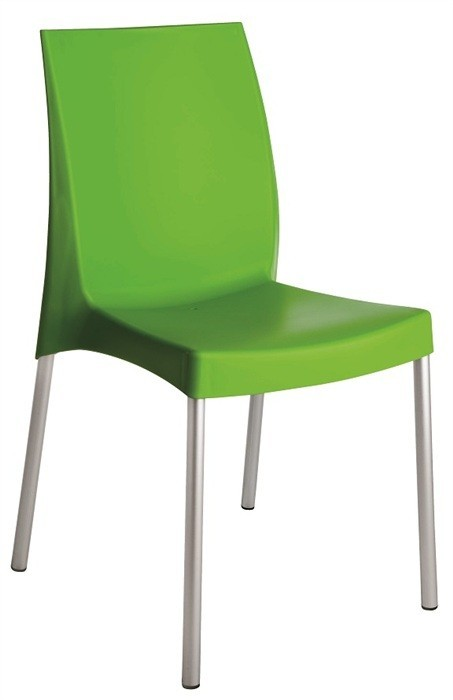 Chair FUJI, Aluminum, Polypropylene Green *