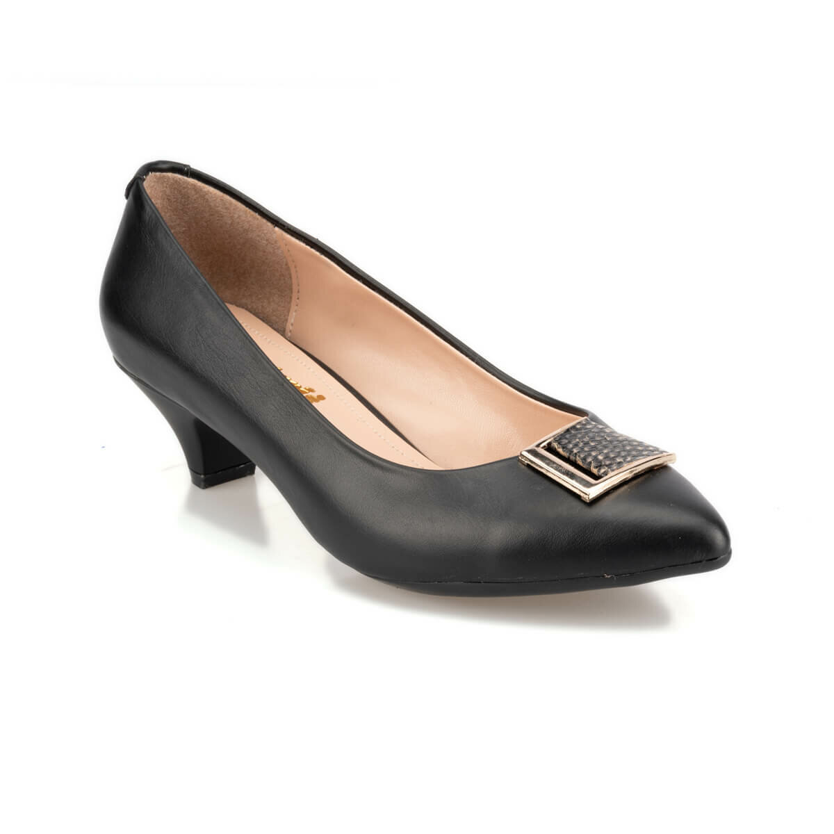 FLO 92.314175.Z Black Women Gova Shoes Polaris