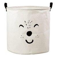 Laundry basket Children's White 111843