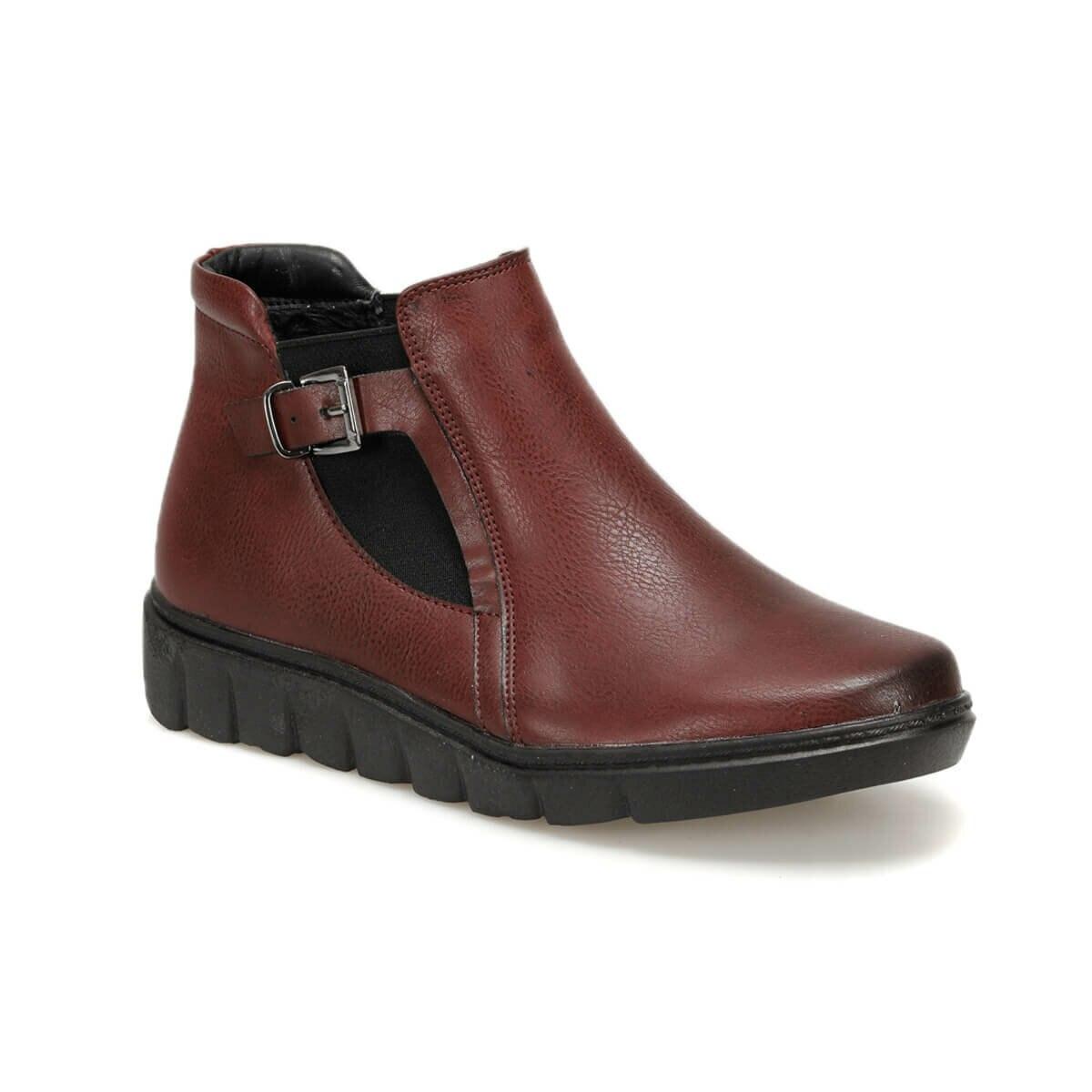 FLO TRV8221 Burgundy Women 'S Boots Polaris