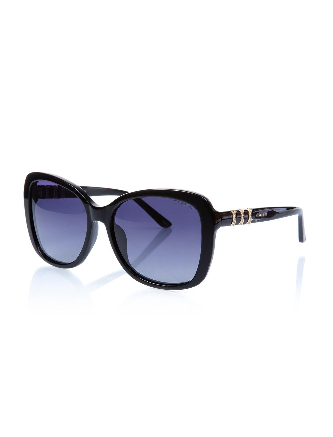 Women's sunglasses os 2356 01 bone black organic square square 57-17-137 osse