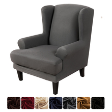 Slipcover-Protector Chair Sofa-Cover Couch Elastic Wingback Multi-Color