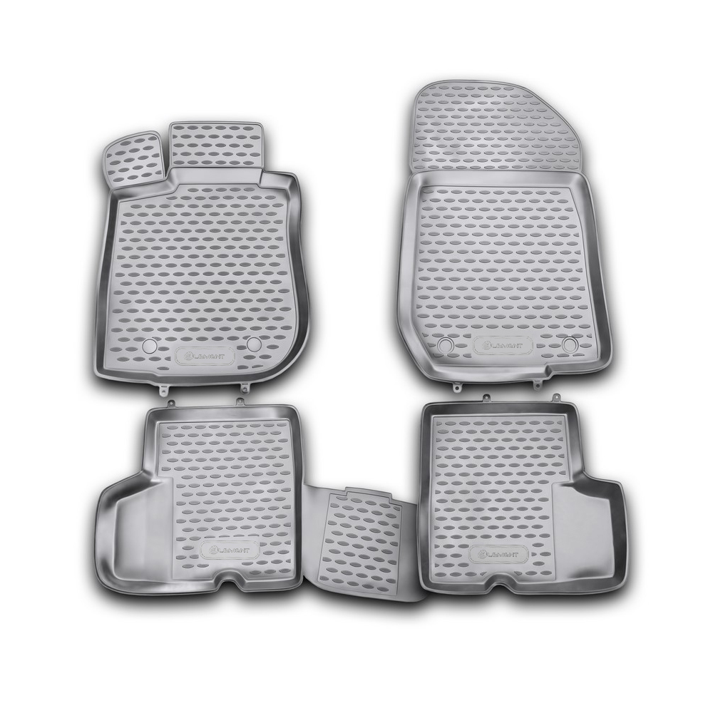 Floor Mats For RENAULT Logan 2004-2009-2010-2014. NLC.41.05.210kh